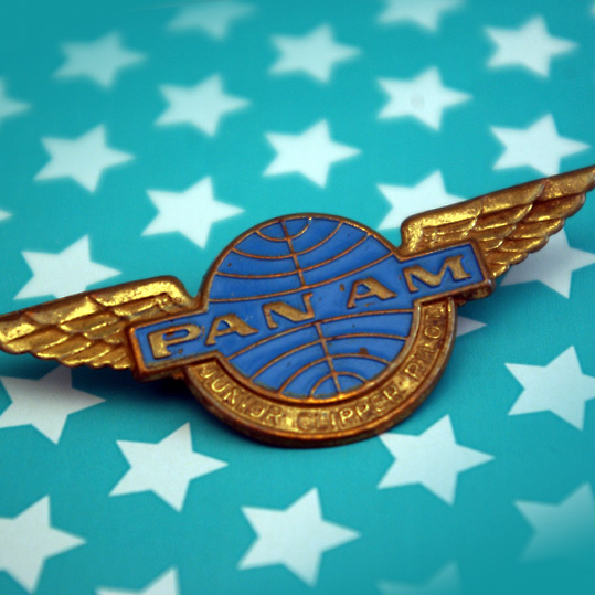 Pan Am Junior Clipper Pilot Wings