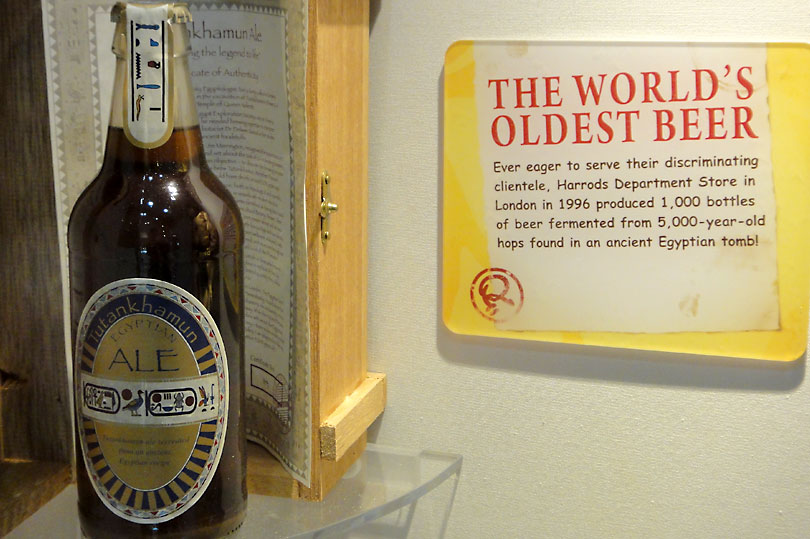 The World's Oldest Beer - brewed from 5000 year old hops found in an Ancient Egyptian tomb!