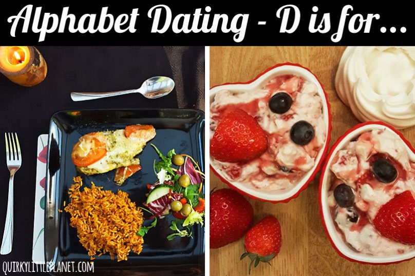 Alphabet Dating - D is for Dinner Date