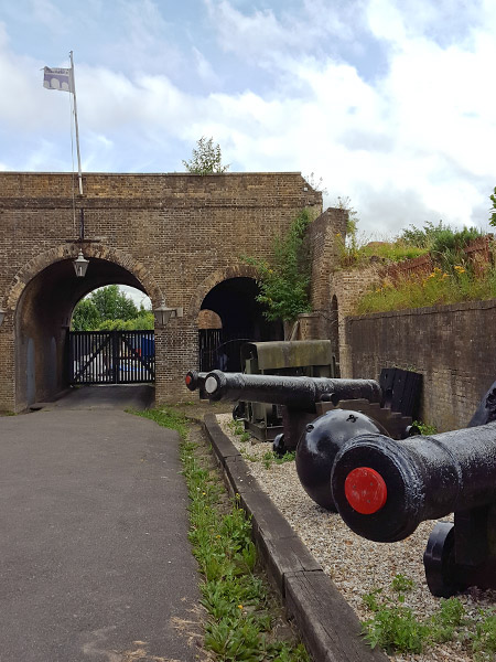 Escape Plan at Fort Amherst in Kent, UK