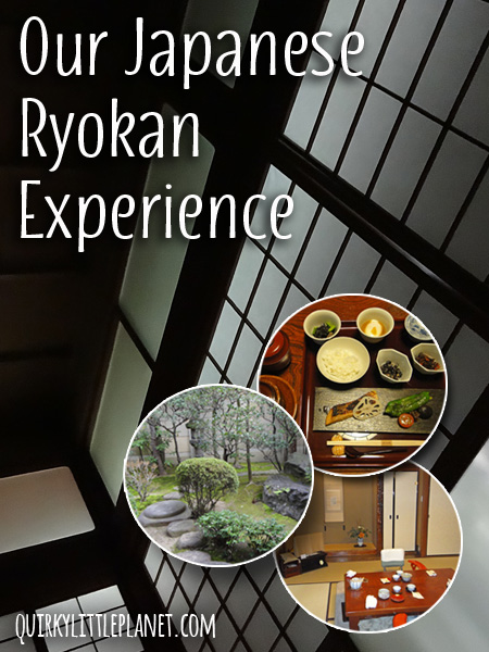 Our Japanese Ryokan Experience in Kyoto - what to expect.