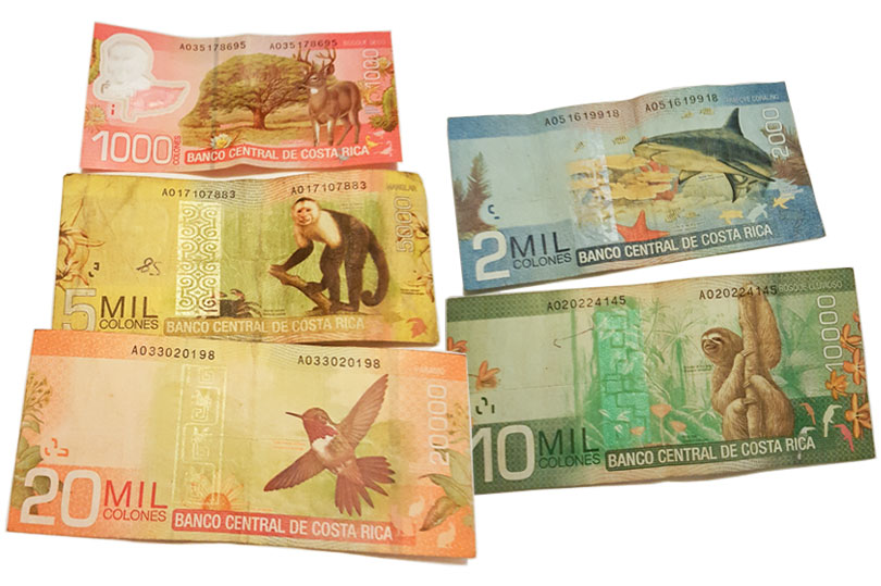 How pretty are the Costa Rican bank notes?!
