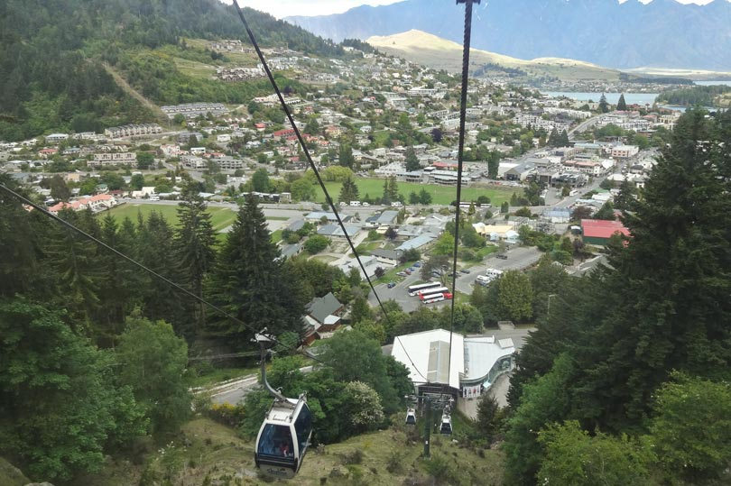 Skyline gondola Queenstown