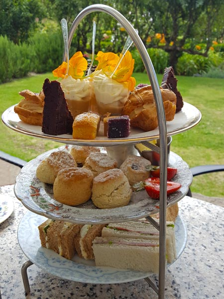 Afternoon tea at the Secret Garden