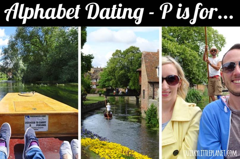 Alphabet Dating - P is for Punting