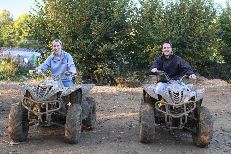Quad biking fun at Southern Pursuits