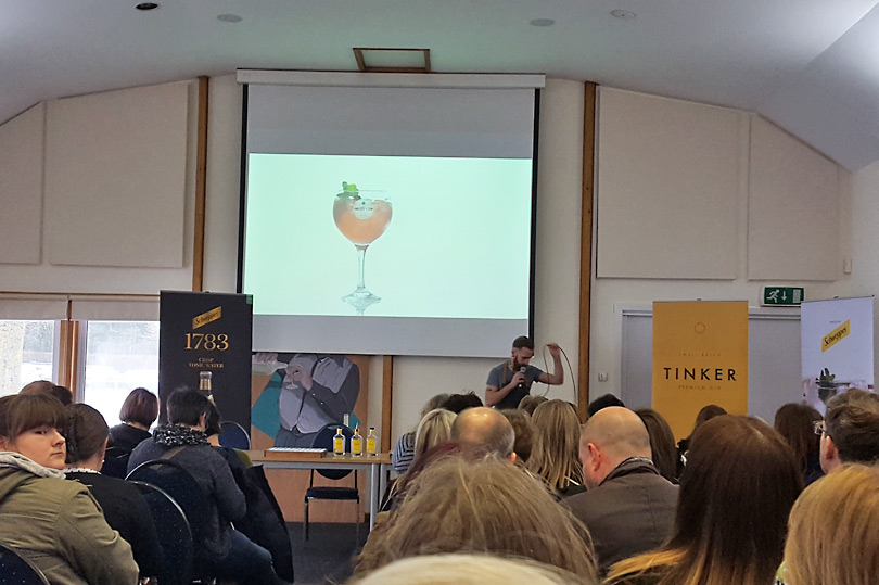 Tinker Gin masterclass at Gin Festival Maidstone