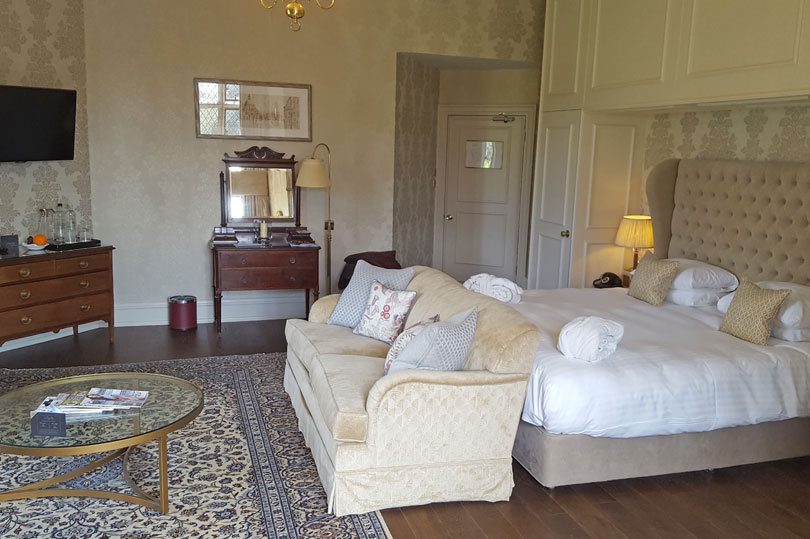 Robert Curtoys room at Eastwell Manor