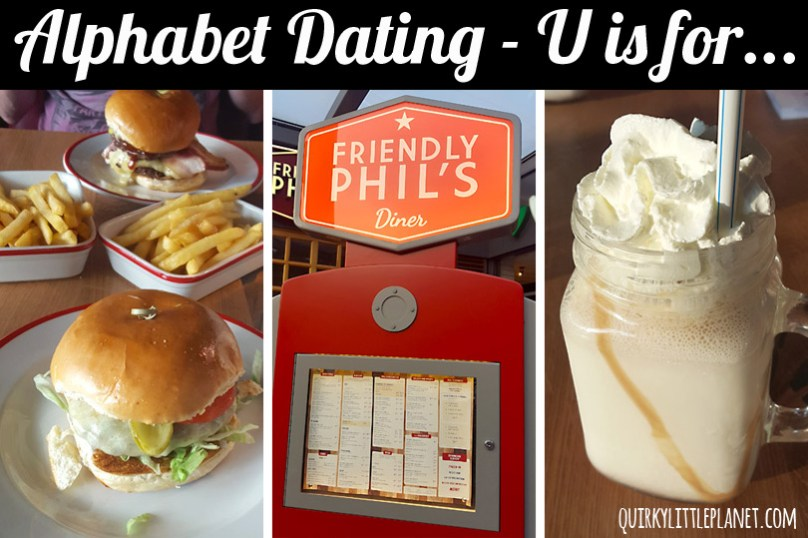 Alphabet Dating - U is for USA themed restaurant