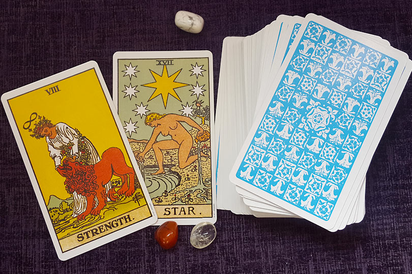 learning tarot in lockdown