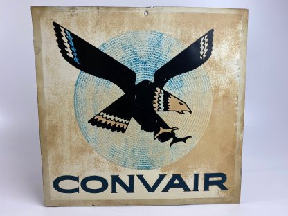 Convair sign with eagle