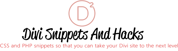 divi snippets - png