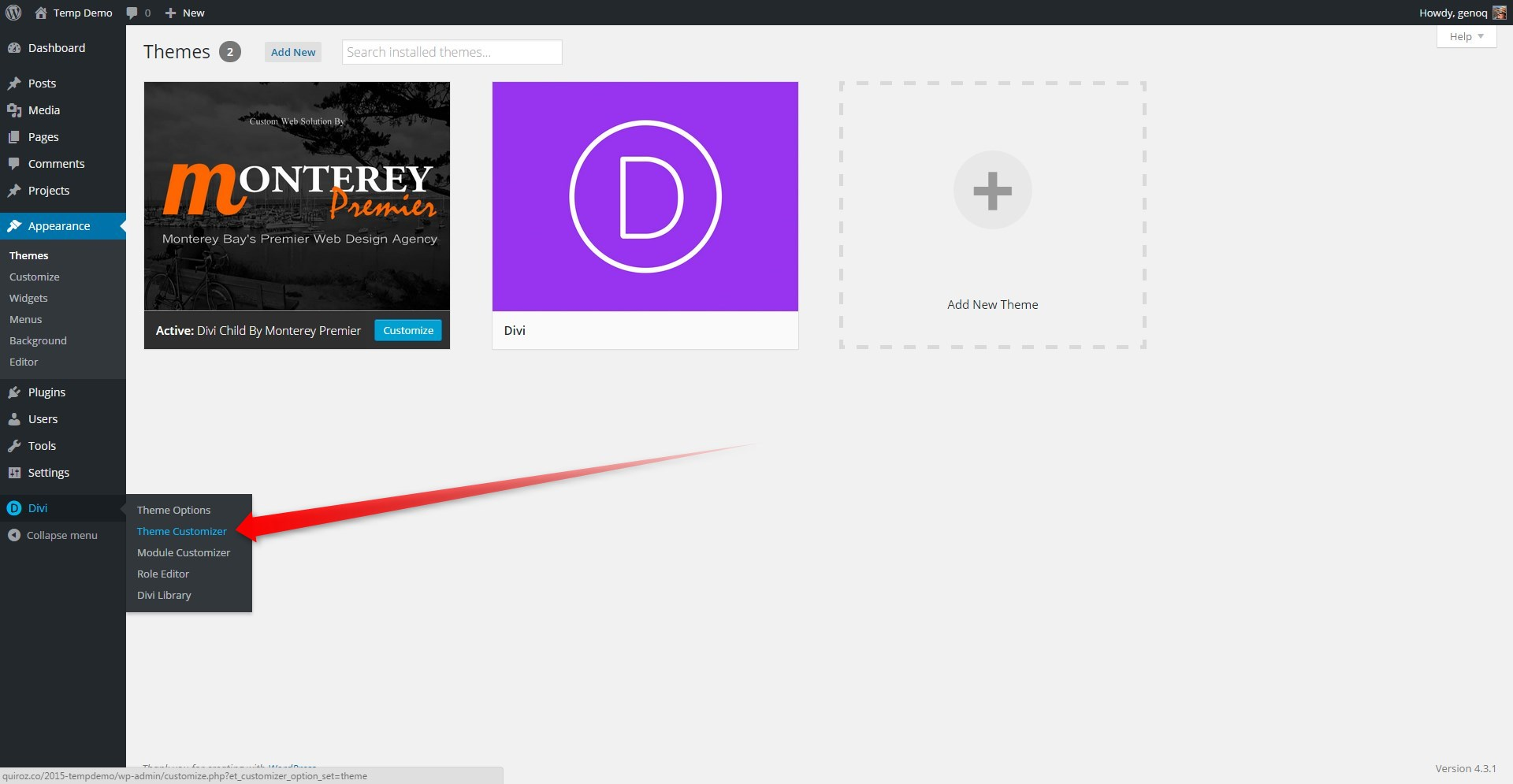 Add Cool Square Social Media Buttons in Divi's Top Header