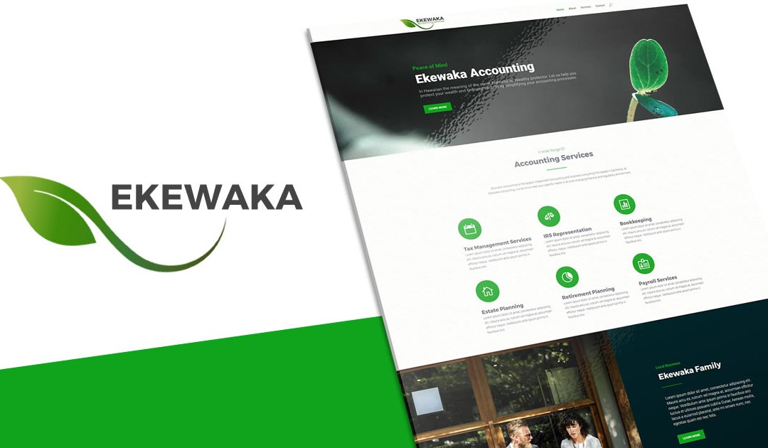Ekewaka | A Green Business Divi Layout Kit