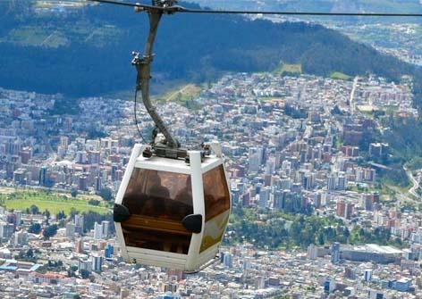 The Cableway - TeleferiQo - Travel Quito - Ecuador | Quirutoa