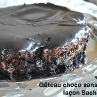 Gâteau au chocolat façon Sachertorte sans gluten