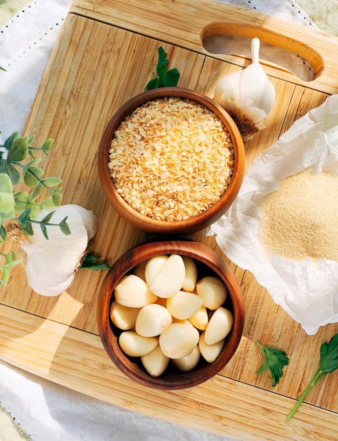 S.Y.L. Tip #2 – Garlic 3 Ways