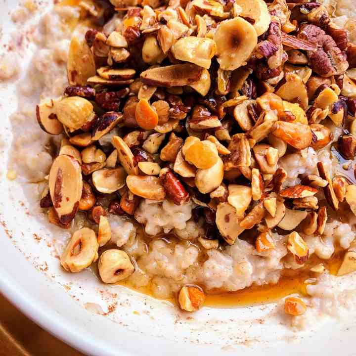 Honey Nut Oatmeal_topview