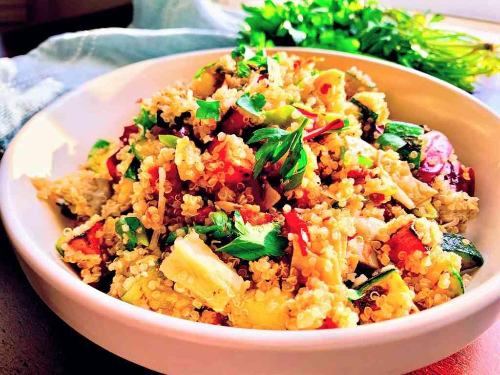 Veggie Quinoa Bowl_closeup 1