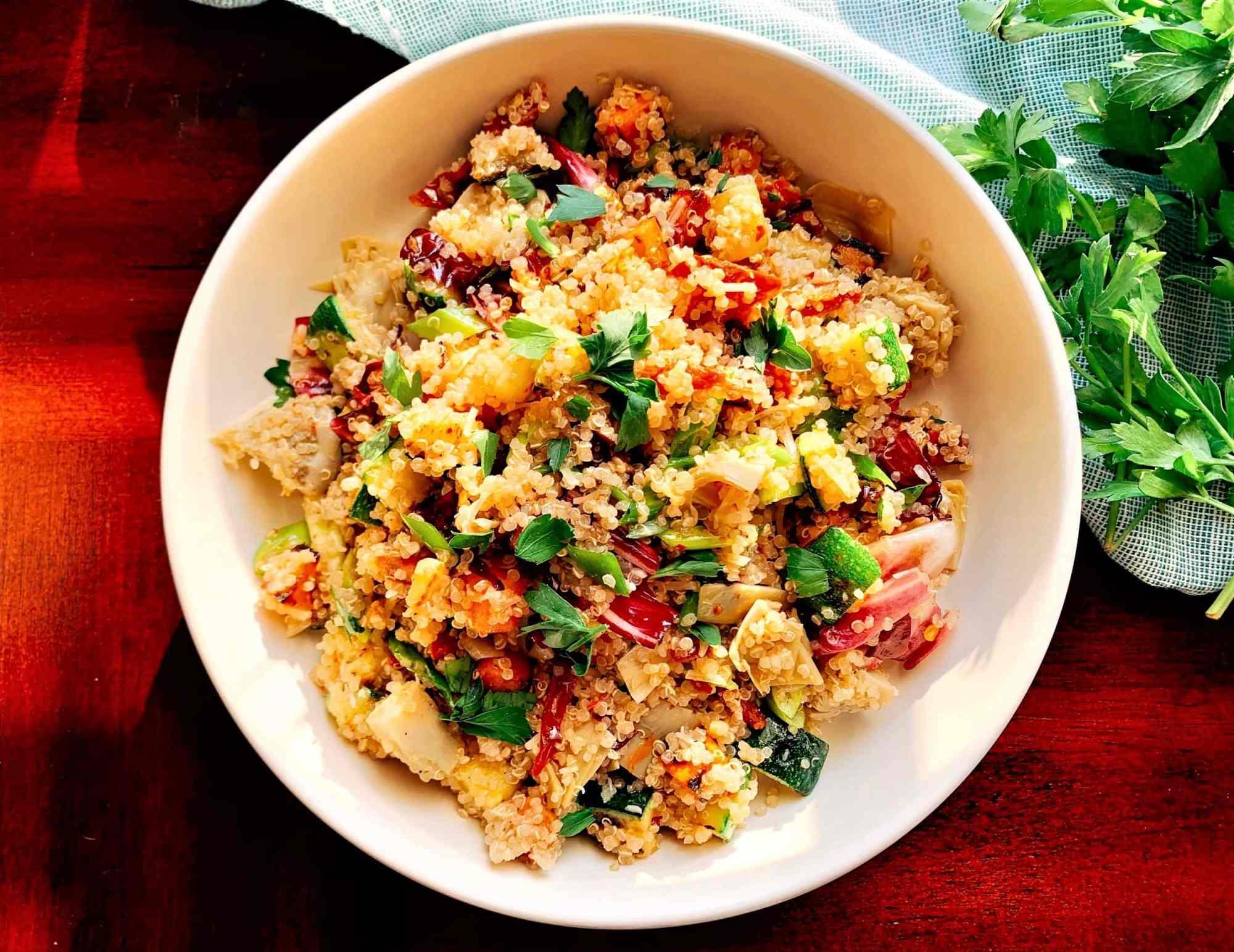 Veggie Quinoa Bowl_top 1