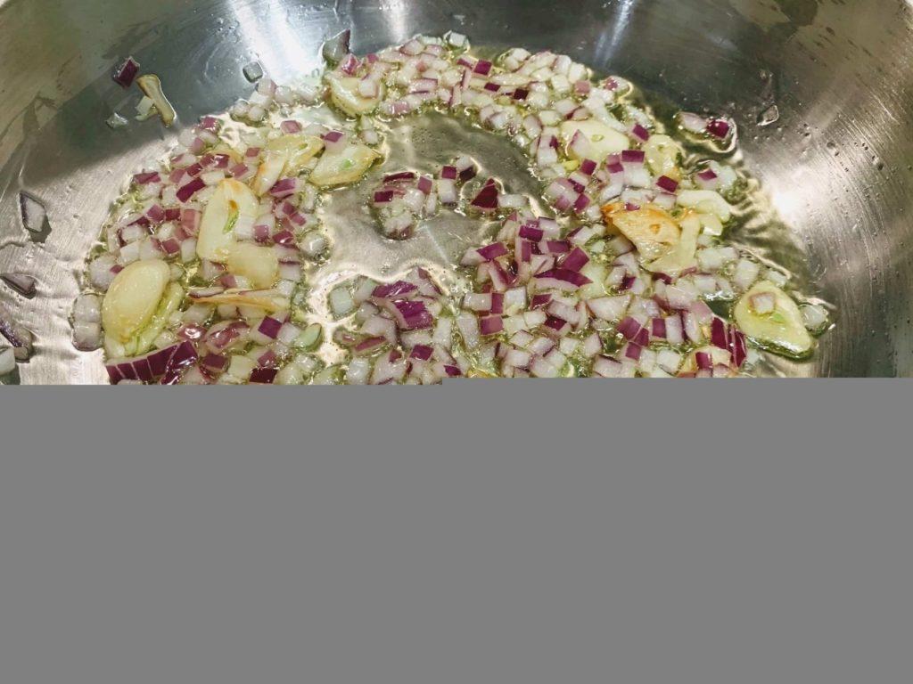Mediterranean Vegetable Pasta_saute oinions