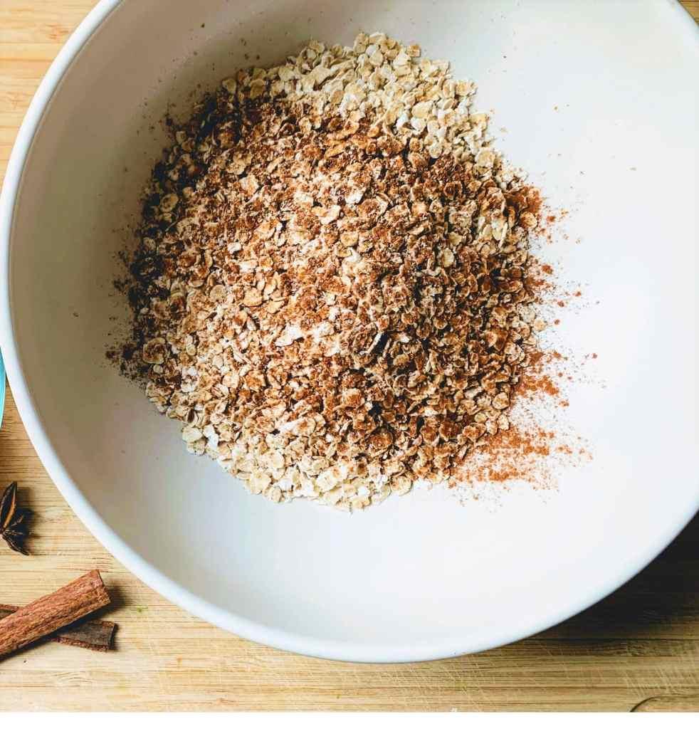 Oatmeal_dried ingredients