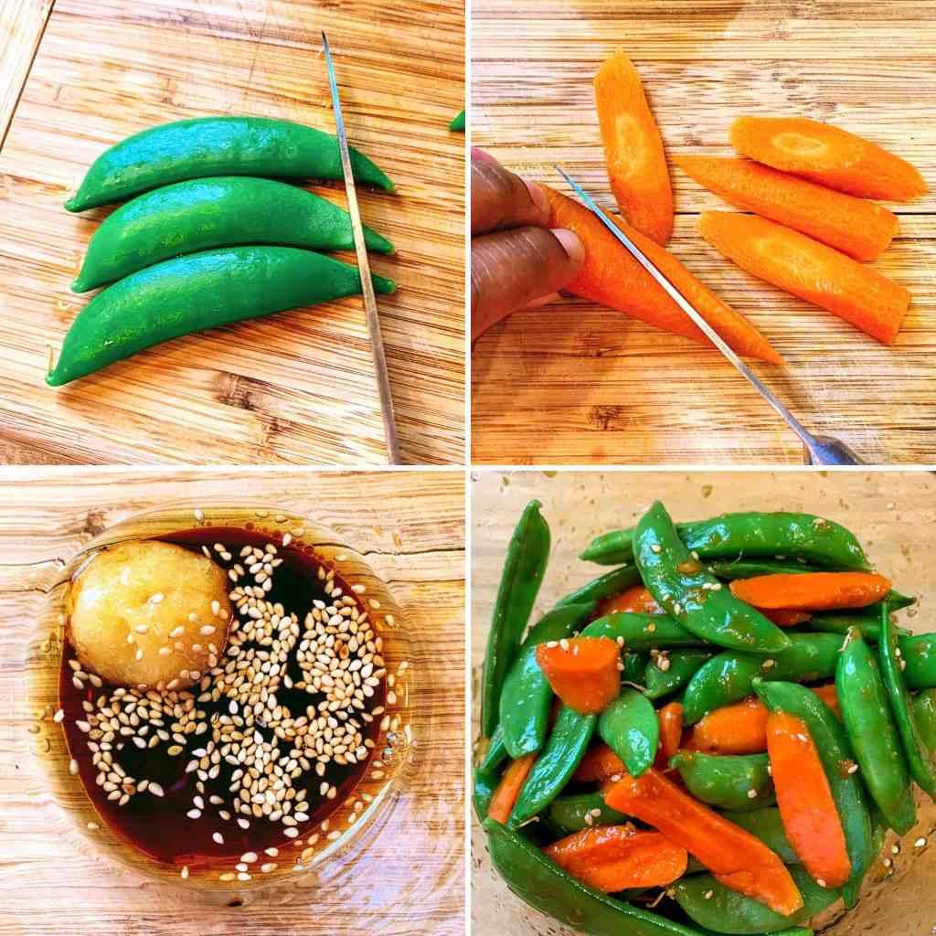 Orange Ginger Salmon_veg prep quad