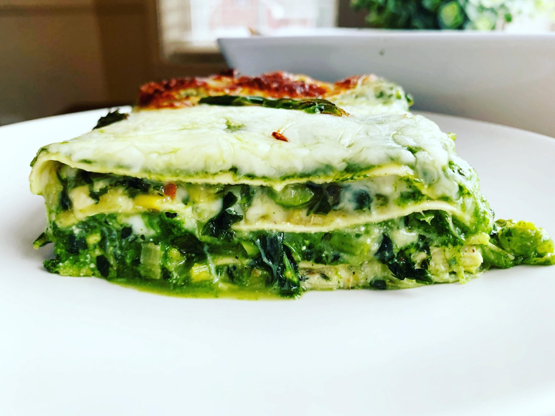 Mean Green Vegetable Lasagna_square piece horizontal