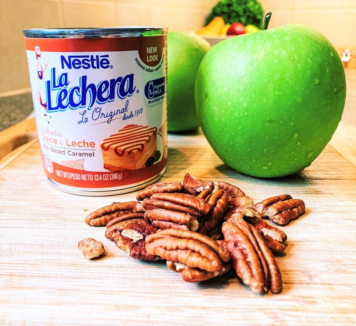 Caramel Green Apple Oatmeal_ingredients