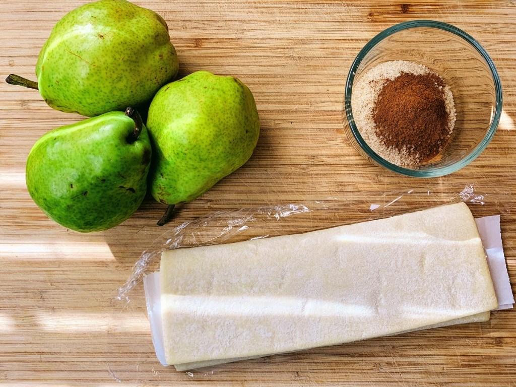 Pear Tart_ingredients