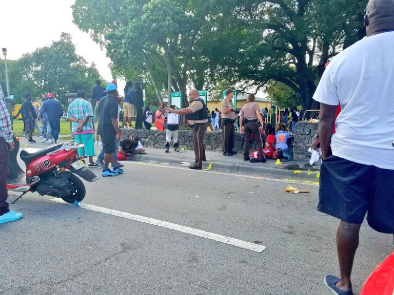 Multiple People Shot During Martin Luther King Jr. Day celebration In Miami