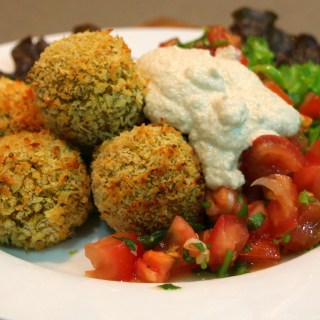Curried kumara and quinoa balls