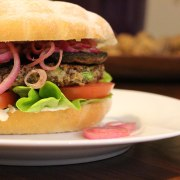 A really great vege burger.