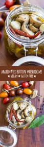 Marinated button mushrooms are simple to make, incredibly tasty and great to have on hand to add to salads and antipasto platters.