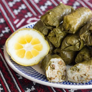 Rice and lentil dolma