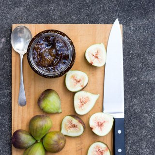 Fig, balsamic and vanilla jam