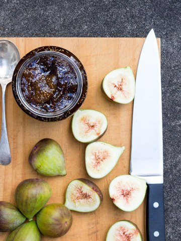 Fig, balsamic and vanilla jam.