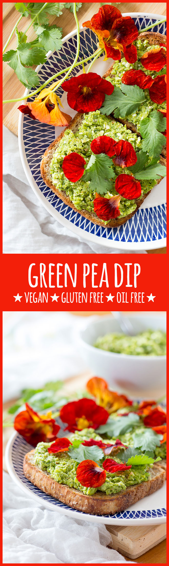 This simple, fresh and tasty dip featuring green peas, coriander and almonds is cheap and can be on the table in under 10 minutes.