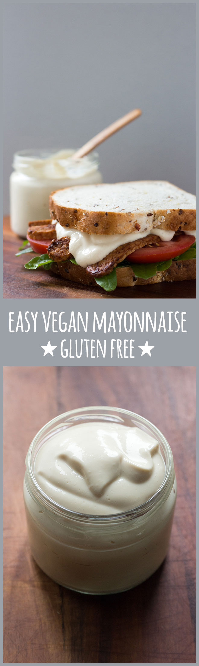 An easy, five-minute eggless mayonnaise that's smooth, creamy and everything a good mayonnaise should be.