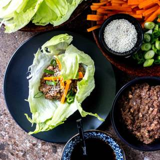 Oh mommy umami lettuce wraps by Sam Turnbull