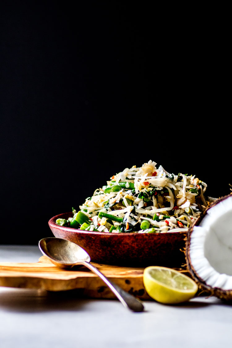 Urab Sayur Balinese Coconut And Vegetable Salad Quite