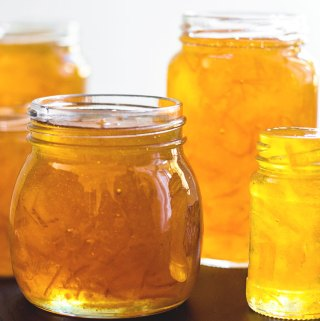 Chai spiced grapefruit marmalade.