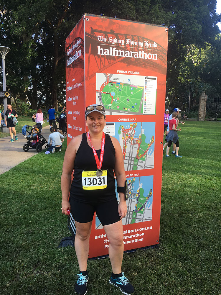 Sydney Half Marathon 2019.