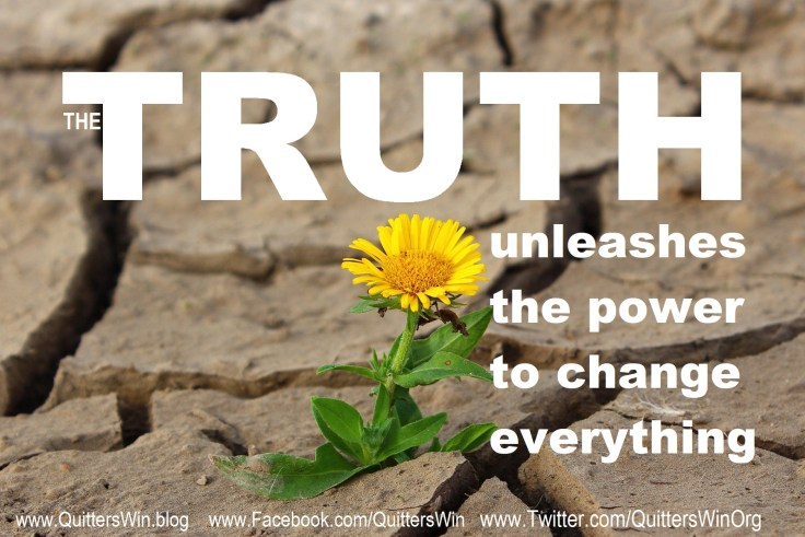 The truth unleashes the power to change everything.