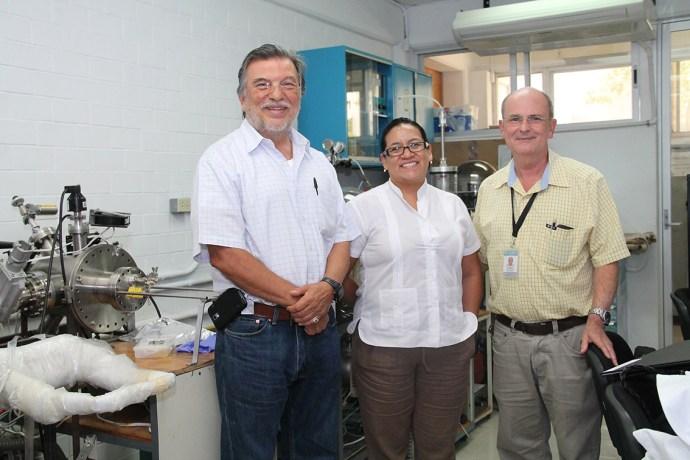 Juan Luis Peña Chapa, Aracely Rios y Oscar Ares