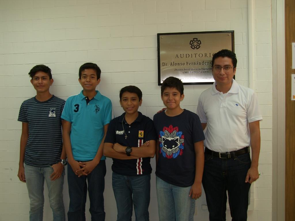 Salvador Pérez Chí, David Zavala Pérez, Eliezer Collí Cuxim, Gaspar Pech Escamilla y Guillermo Cordourier Maruri