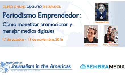 Periodismo emprendedor: curso en línea  para crear medios digitales