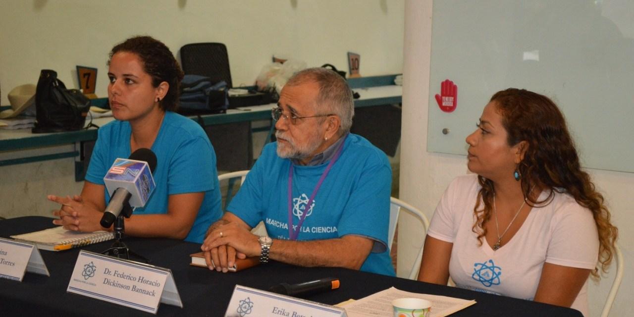 Anuncian Marcha por la Ciencia en Mérida