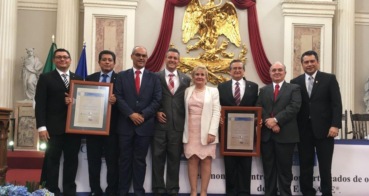Ingeniería Civil e Ingeniería Física de la UADY reciben sello europeo