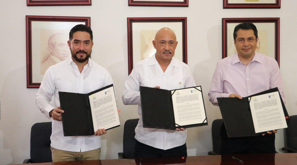 UADY y SEJUVE firman convenio de colaboración